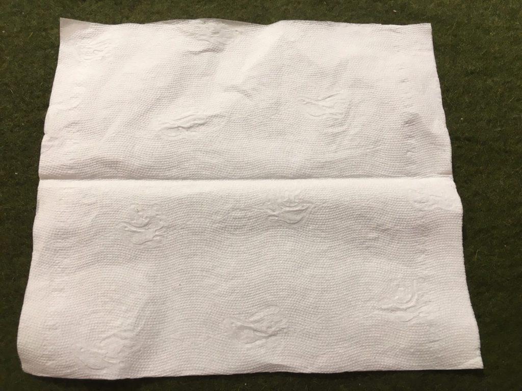 衛生紙是防漏利器